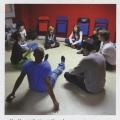 Reportage photo, Numa Sadoul et sa troupe 'Les Enfants terribles' (Novembre 2010)